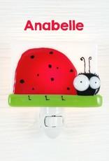 Veille sur toi Nightlight - Ladybug - Anabelle