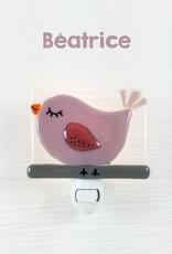 Veille sur toi Veilleuse - Oiseau - Béatrice