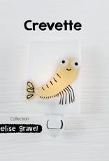 Veille sur toi Veilleuse - Crevette - Elise Gravel