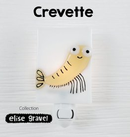 Veille sur toi Nightlight - Shrimp - Elise Gravel
