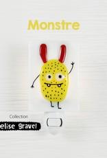 Veille sur toi Veilleuse - Monstre - Elise Gravel