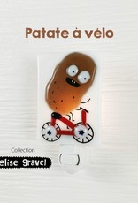 Veille sur toi Nightlight - Potato on a bike - Elise Gravel