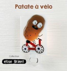 Veille sur toi Veilleuse - Patate à vélo - Elise Gravel
