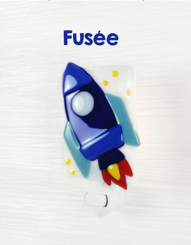Veille sur toi Veilleuse - Fusée