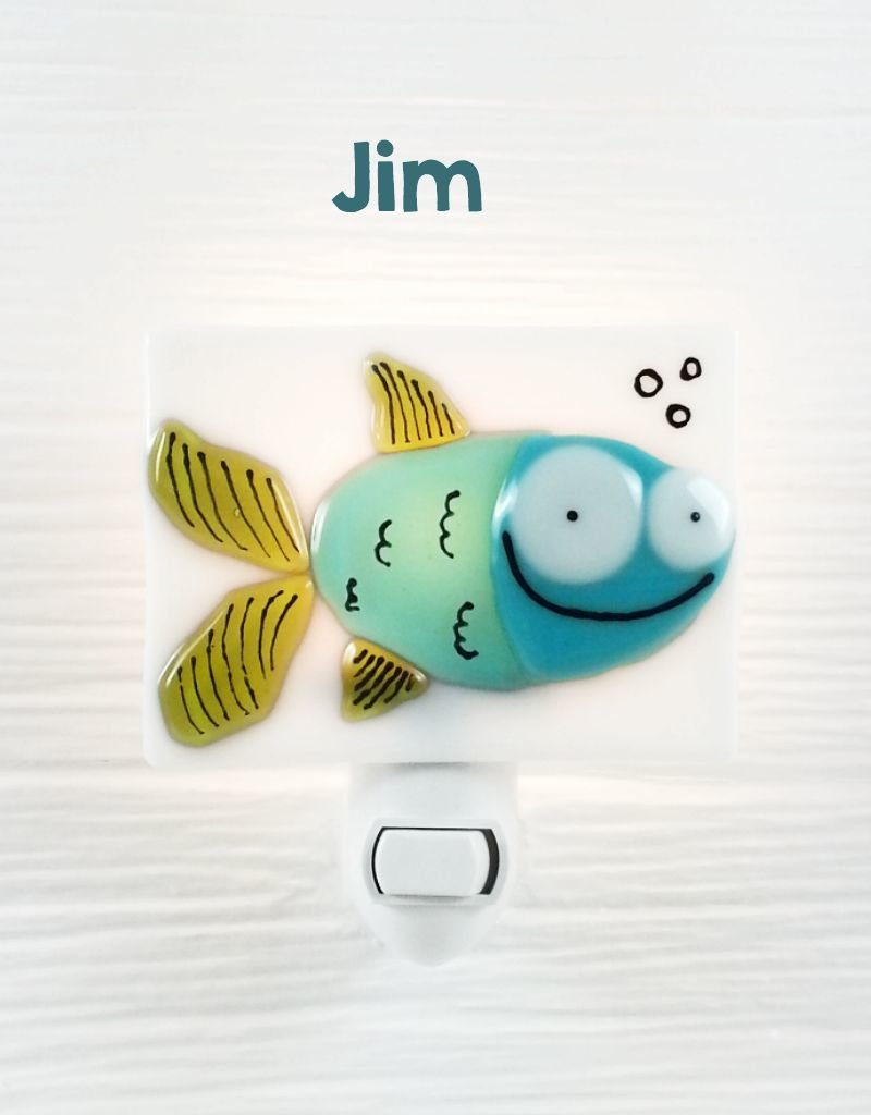 Veille sur toi Nightlight - Fish - Jim