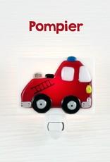 Veille sur toi Veilleuse - Camion de pompier