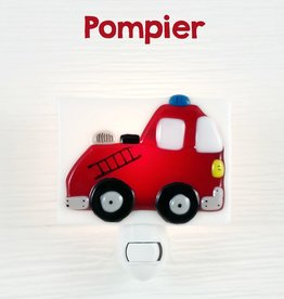 Veille sur toi Nightlight - Firefighter truck