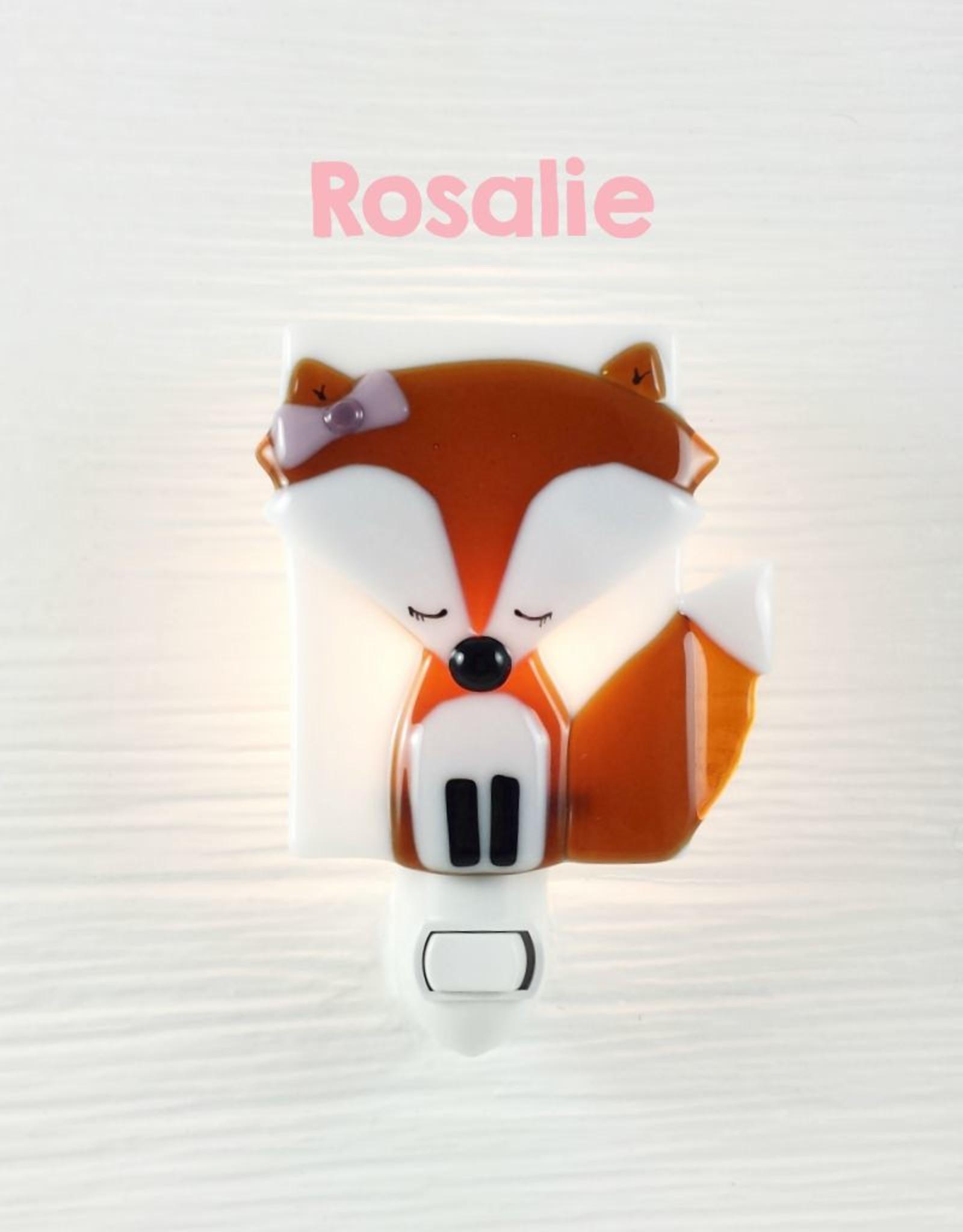 Veille sur toi Veilleuse - Renard - Rosalie