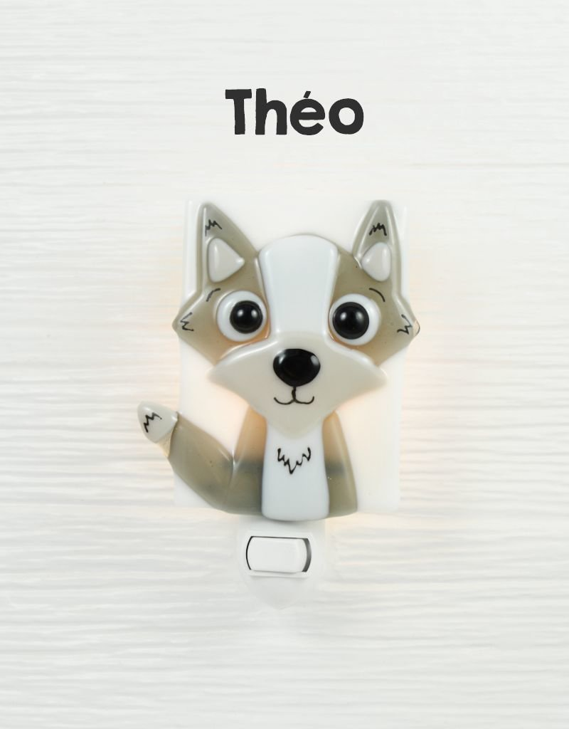 Veille sur toi Nightlight - Wolf - Theo