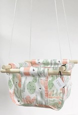 Cyan Baby swing - Cactus