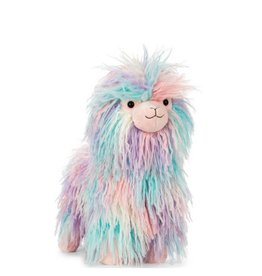 Jelly Cat Plush- Multicolored Lama