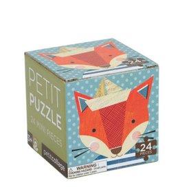 Petit Collage Casse-tête - Mini-Boîte Renard 4+
