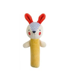 Petit Collage Organic squeaker - Rabbit 0+
