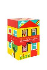 Petit Collage Maison Cache-Cache - Carton rigide - 18m+