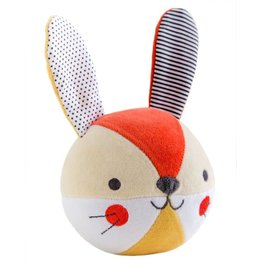 Petit Collage Chime ball - Bunny 0+