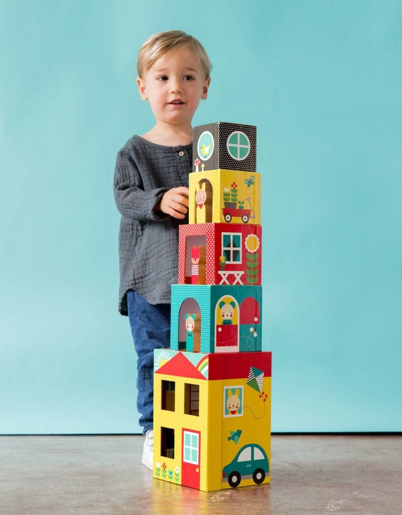 Petit Collage Peek-a-boo House - 18m+