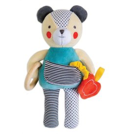 Petit Collage Organic activity doll - Busy bear 0+