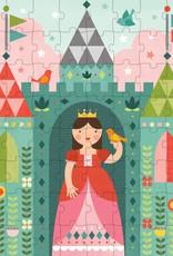Petit Collage Puzzle Tin & Coin Bank - Princess 4+