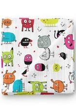 Olé Hop Bamboo blanket - Monster - Elise Gravel