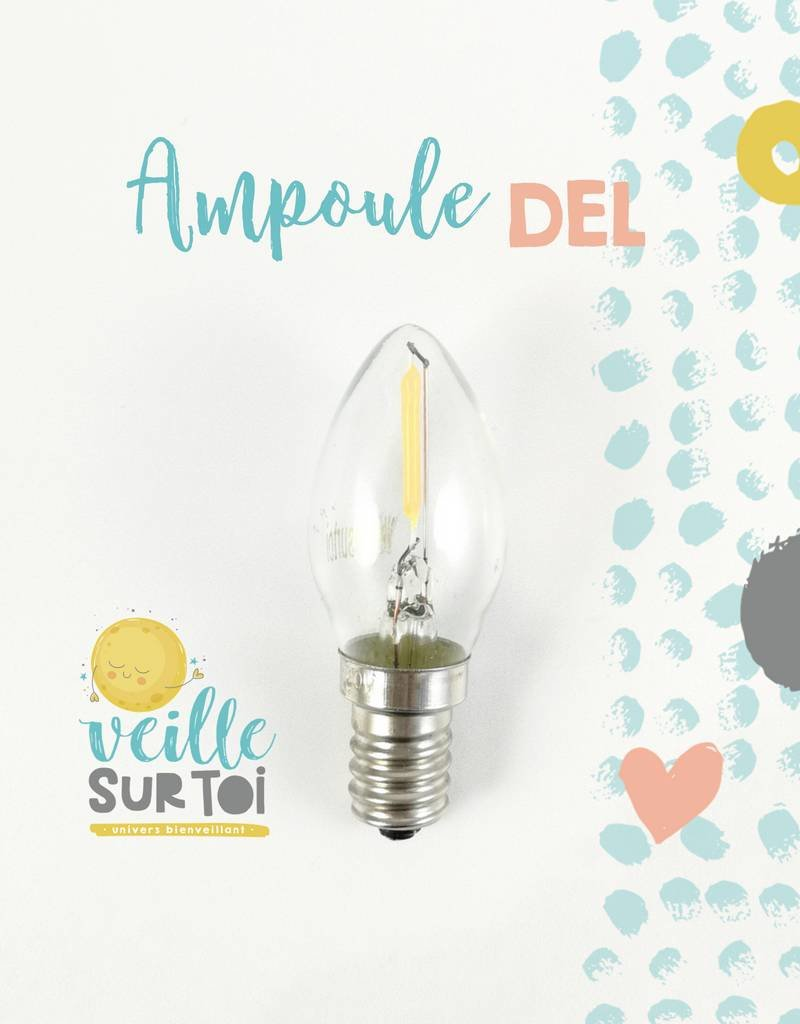 Veille sur toi LED Bulb - 0.3 watt