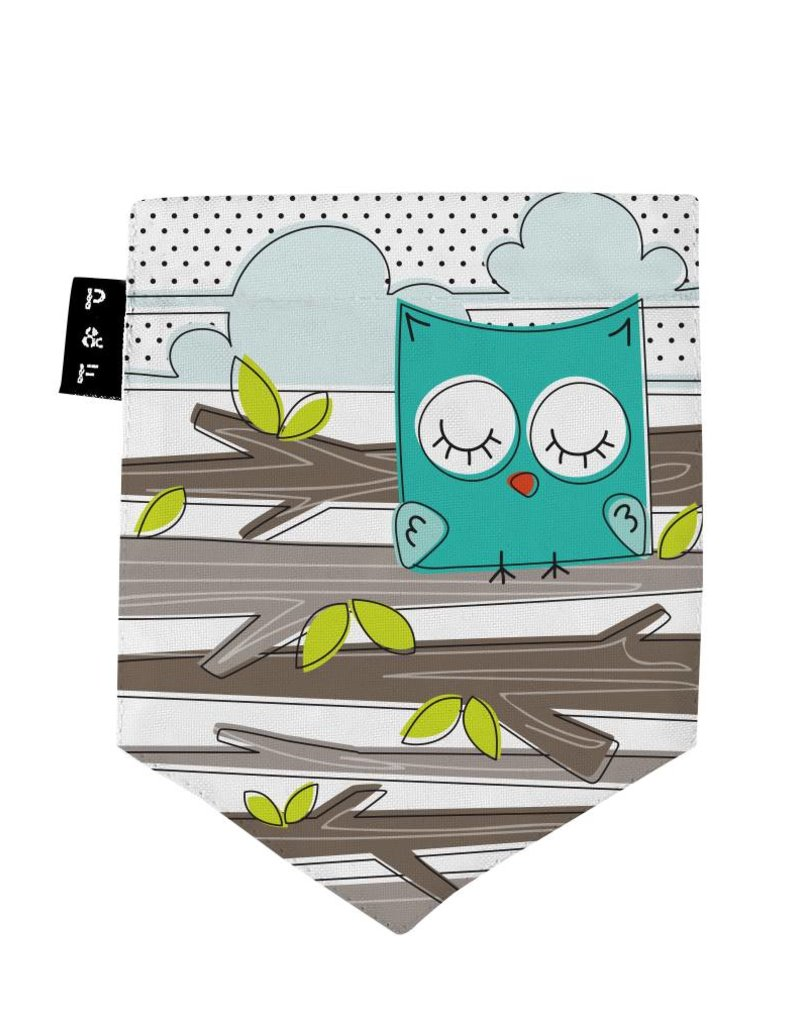 Poches & Fils Kid round-neck - Pocket Owl
