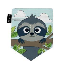 Poches & Fils Kid round-neck - Pocket Sloth Sam