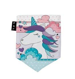 Poches & Fils Woman V-Neck - Pocket Unicorn Clara
