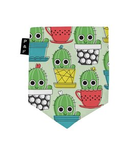 Poches & Fils Woman V-Neck - Pocket Cactus Gus