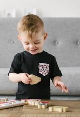 Poches & Fils Enfant col rond - Poche M. Bacon