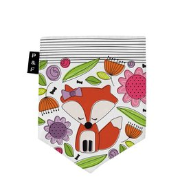 Poches & Fils Kid round-neck - Pocket Fox Rosalie