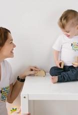 Poches & Fils Enfant col rond - Poche Hibou