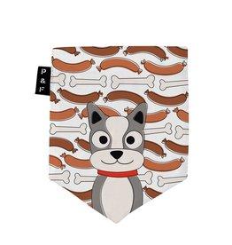 Poches & Fils Woman V-Neck - Pocket Dog Ragoût
