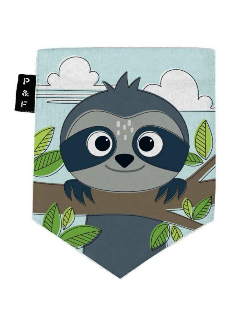 Poches & Fils Men Round-neck - Pocket Sloth Sam