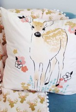 Le Grenier de Juliette Cushion cover - Deer with flower