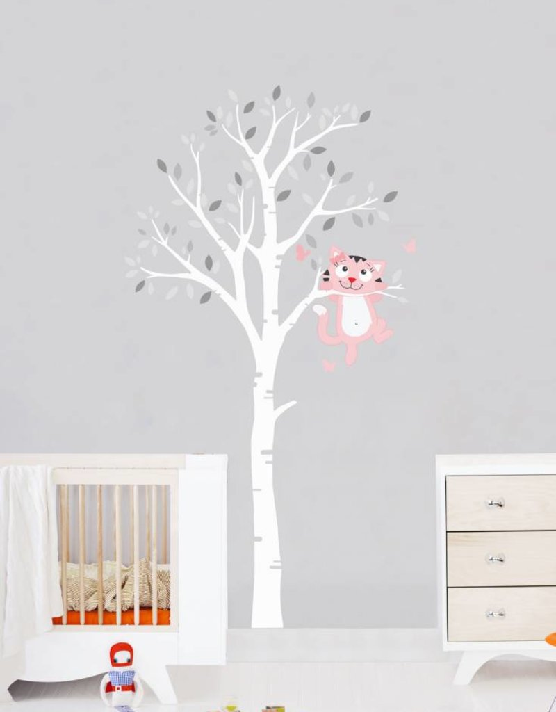 Veille sur toi Wall decal - Tree with Charlotte