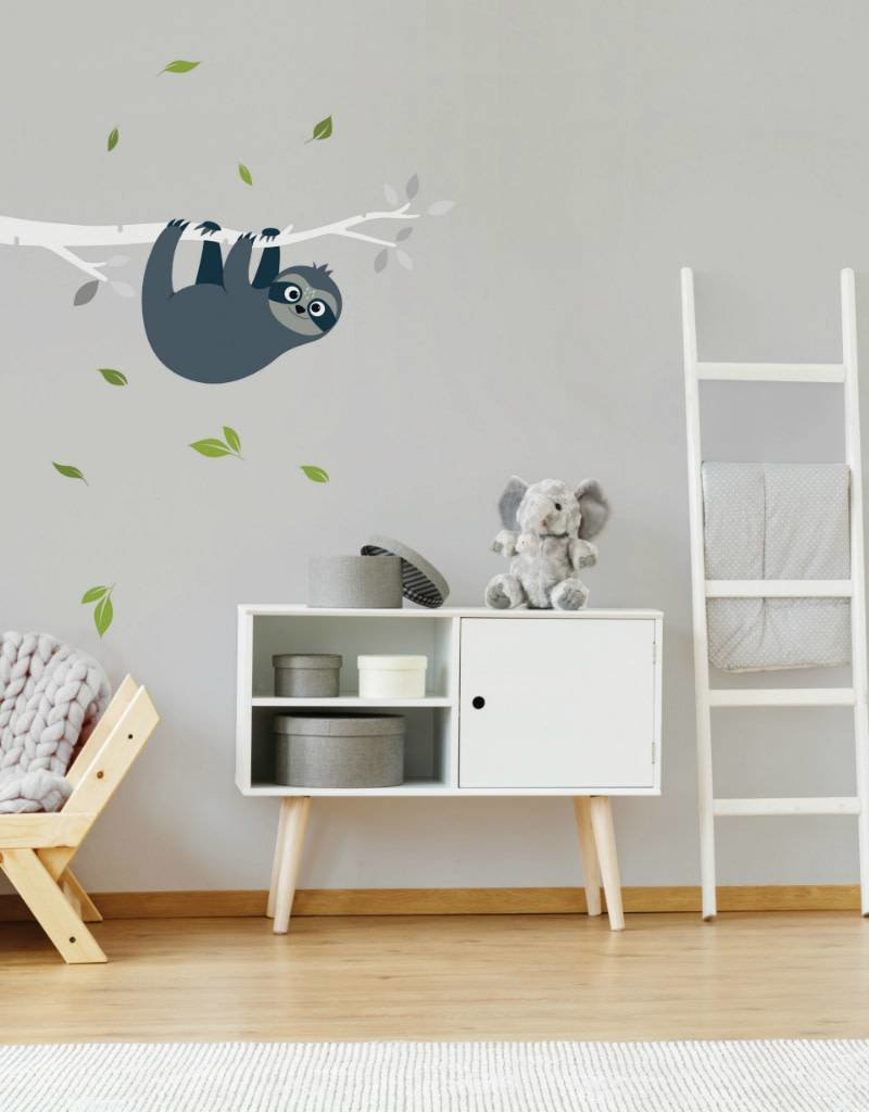 Veille sur toi Wall decal - Branch with Sam