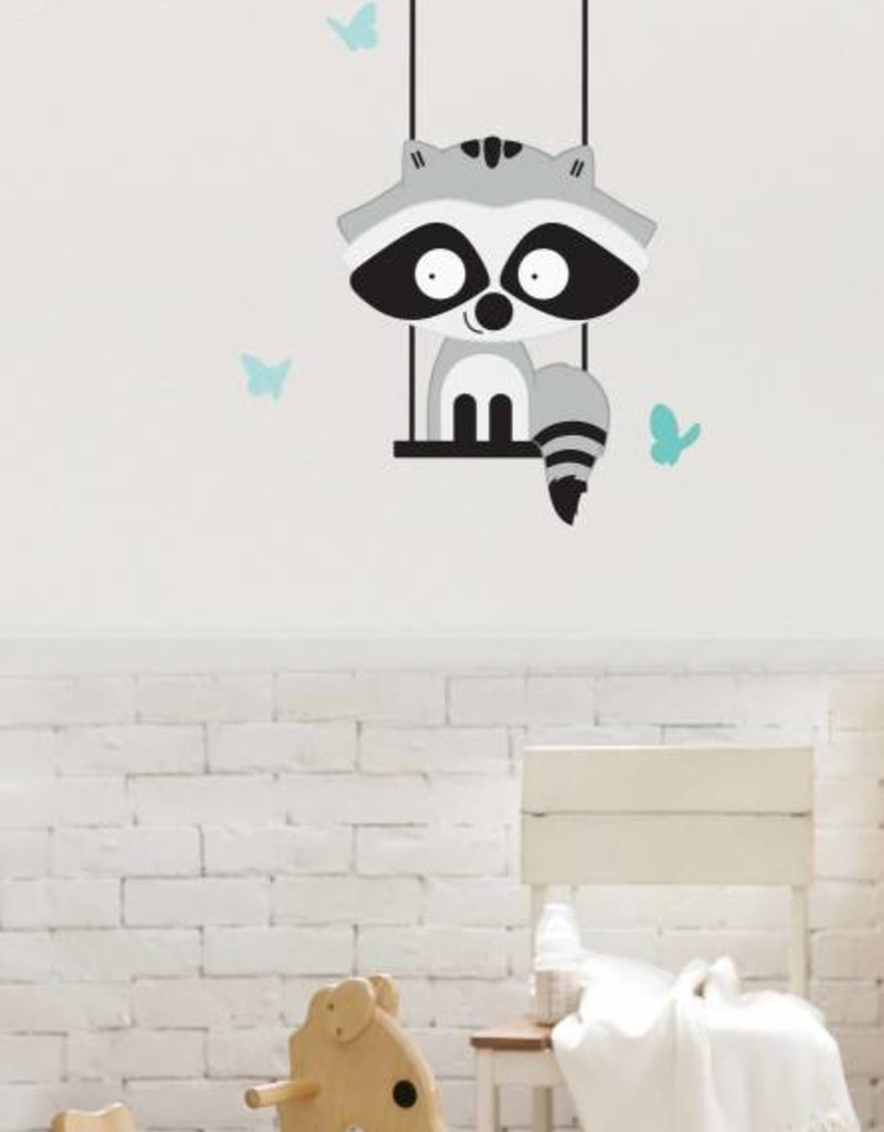 Veille sur toi Wall decal - Branch with Gaston