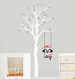Veille sur toi Wall decal - Tree with Juliette
