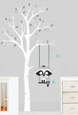 Veille sur toi Wall decal - Tree with Gaston