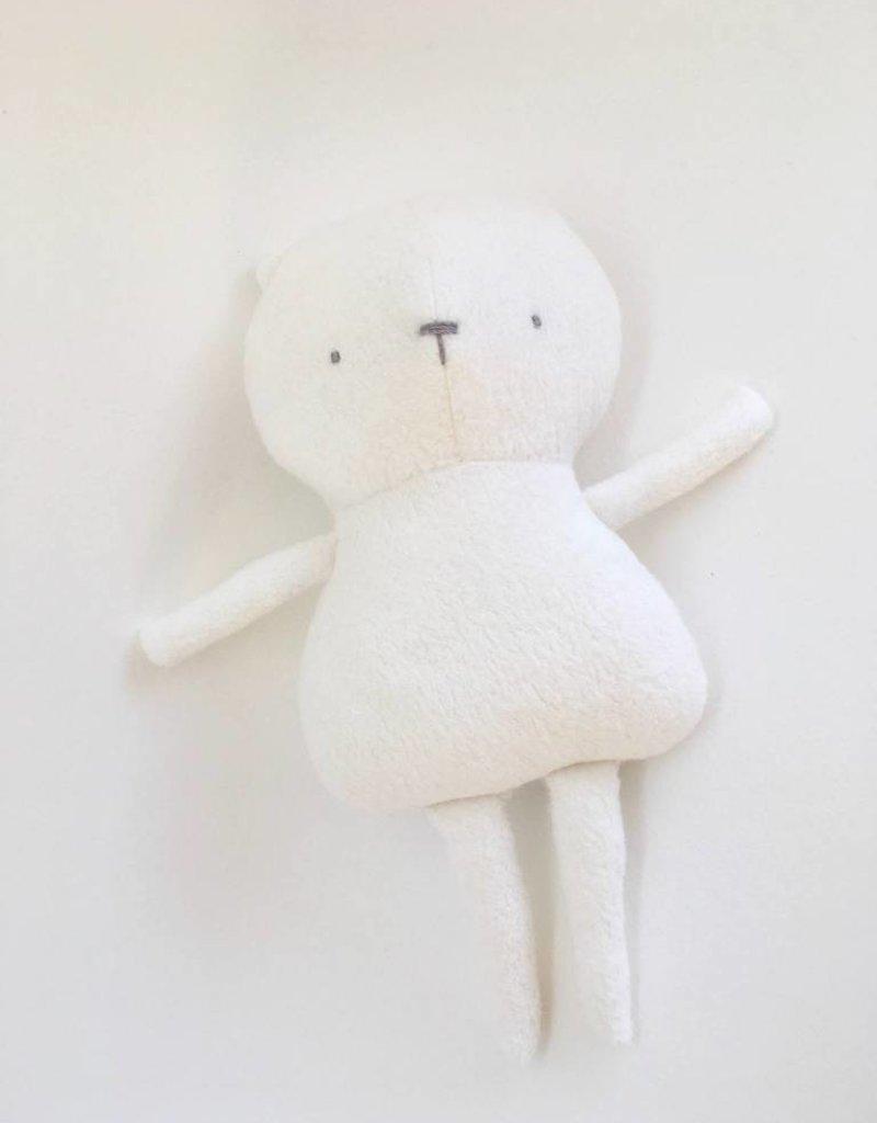 Kiou Kiout Peluche - Ours blanc