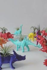 Dinature Dinosaure Plante - Grand - Carnivore mauve