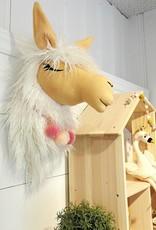 La petite renarde Tête animale murale : Alpaga