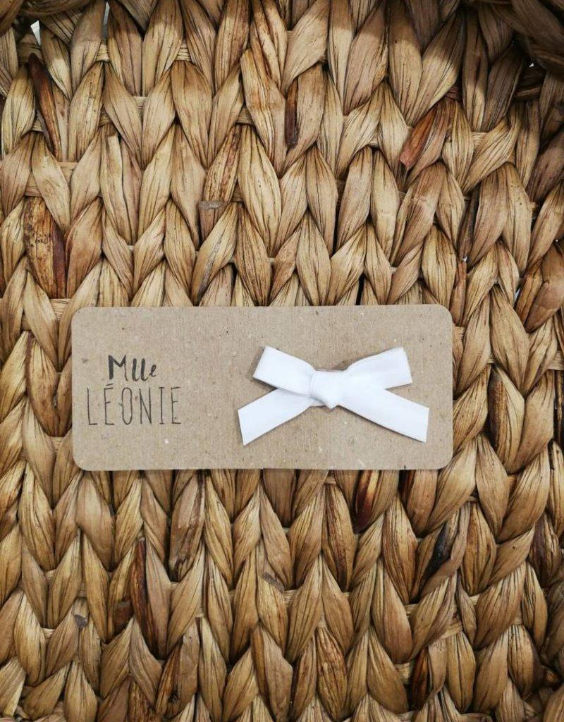 Mlle Léonie Barrette individuelle - Boucle Blanche