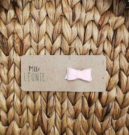 Mlle Léonie Barrette individuelle - Boucle Rose Feutrine