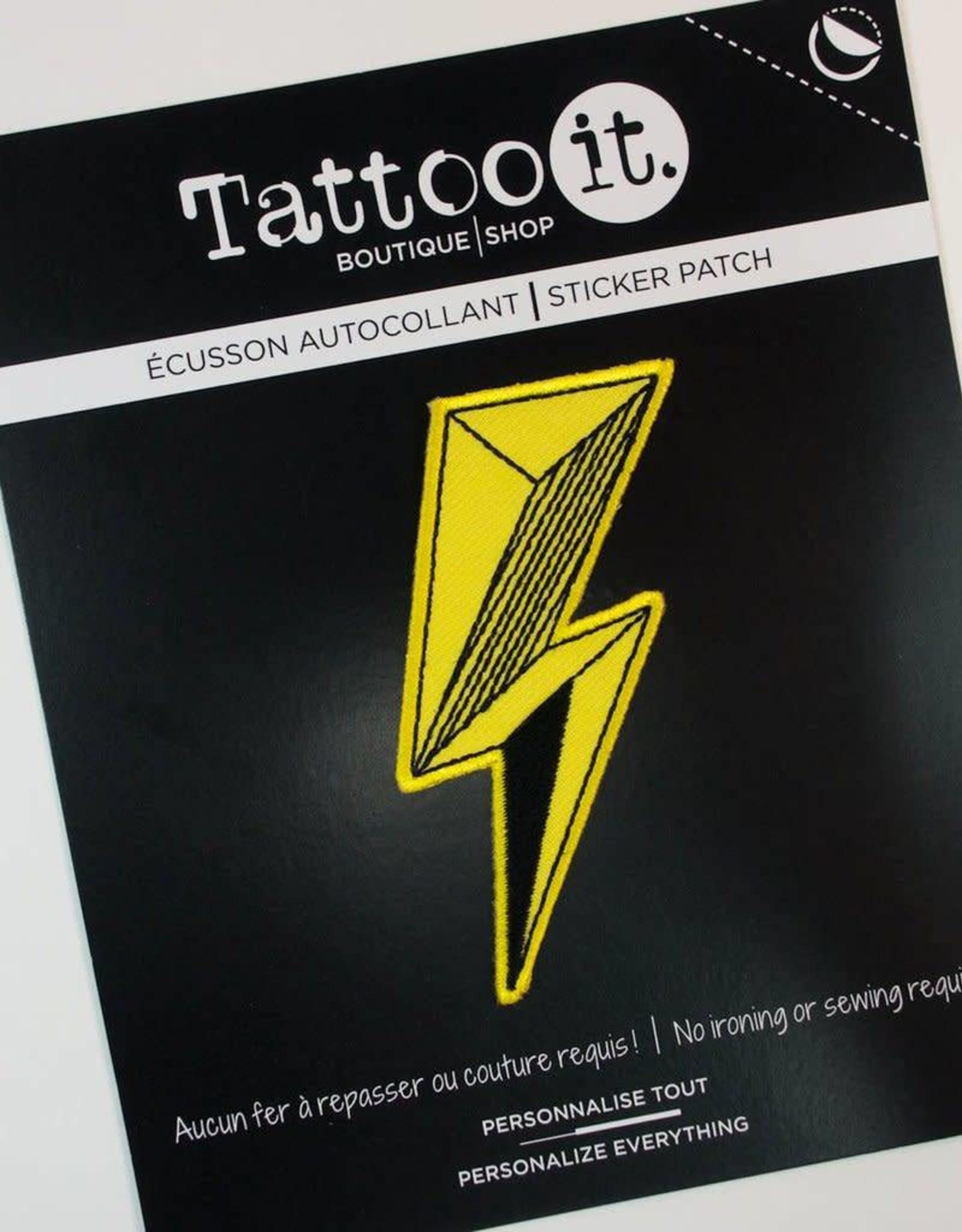 Tattoo It Écusson autocollant - Éclair