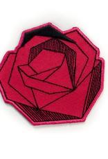 Tattoo It Sticker patch - Red rose