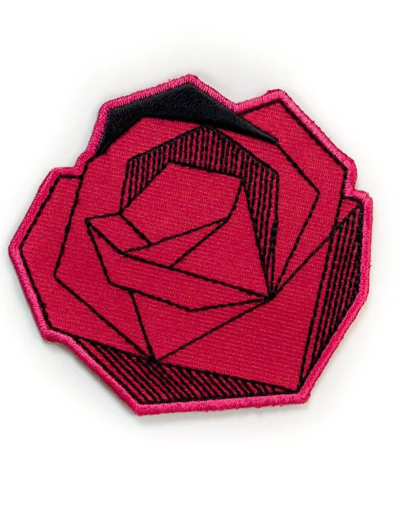 Tattoo It Sticker patch - Red rose
