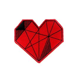 Tattoo It Sticker patch - Red heart