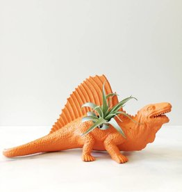 Wild Child Dinosaure Plante - Grand - Orange avec crête