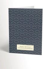 Valérie Boivin Illustrations Carte de souhaits - Chat avec balle de laine